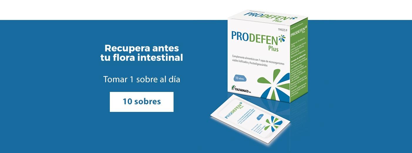 Prodefen Plus Flora Intestinal