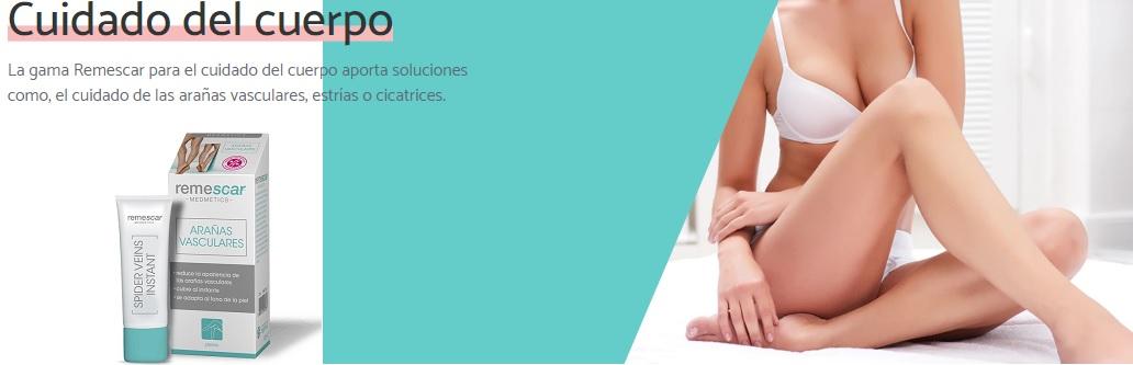 Remescar Arañas Vasculares crema para piernas en Farma2go