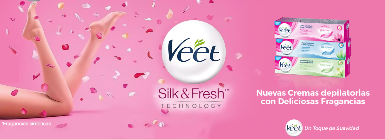 Veet Cremas Depilatorias Silk&Fresh