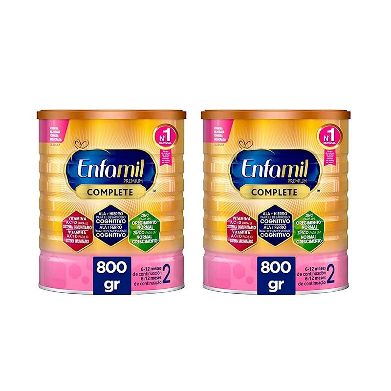 Pack Duplo Enfamil 2 Premium Complete