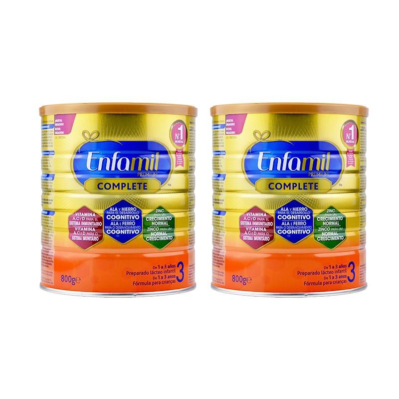 Pack Duplo Enfamil 3 Premium Complete