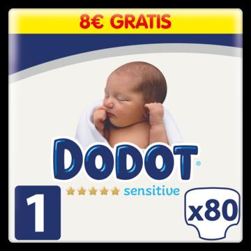 Pañales Dodot Sensitive