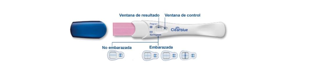 Clearblue Instrucciones de test de embarazo