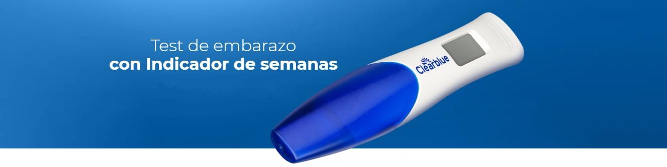 Clearblue Test de Embarazo Digital con Indicador de Semanas