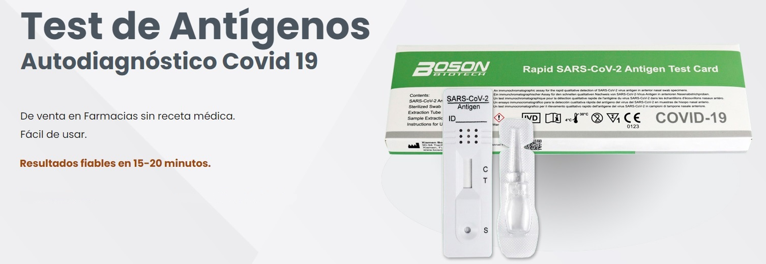 Comprar test antigenos autodiagnostico rapido covid