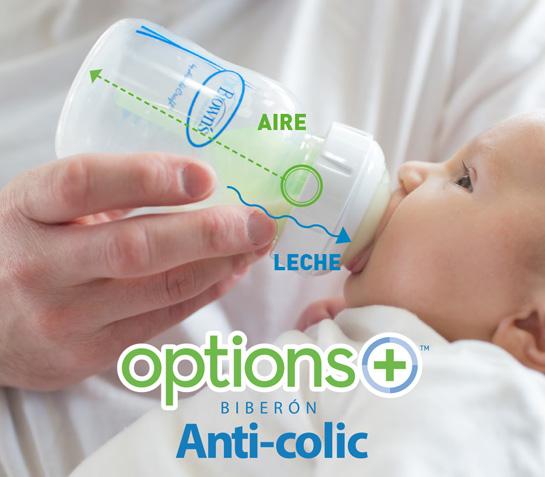como funciona el sistema anti-colicos de Dr Browns