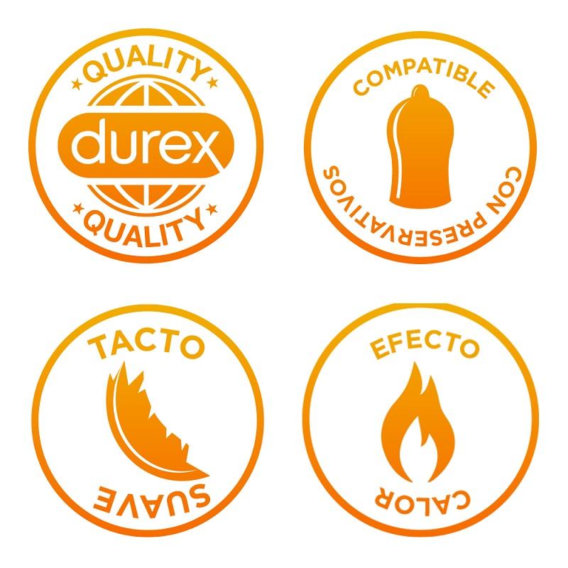 Durex play Calor Instrucciones de uso