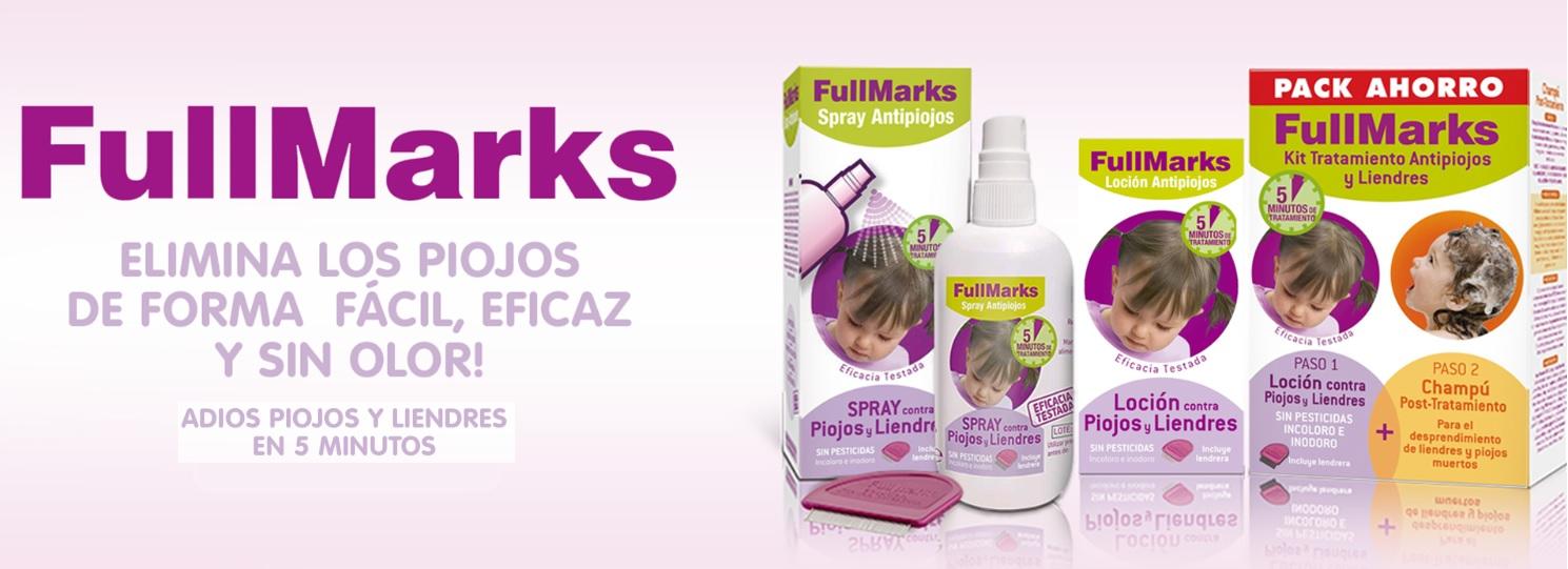 FullMarks Piojos Gama de Productos en Farma2go