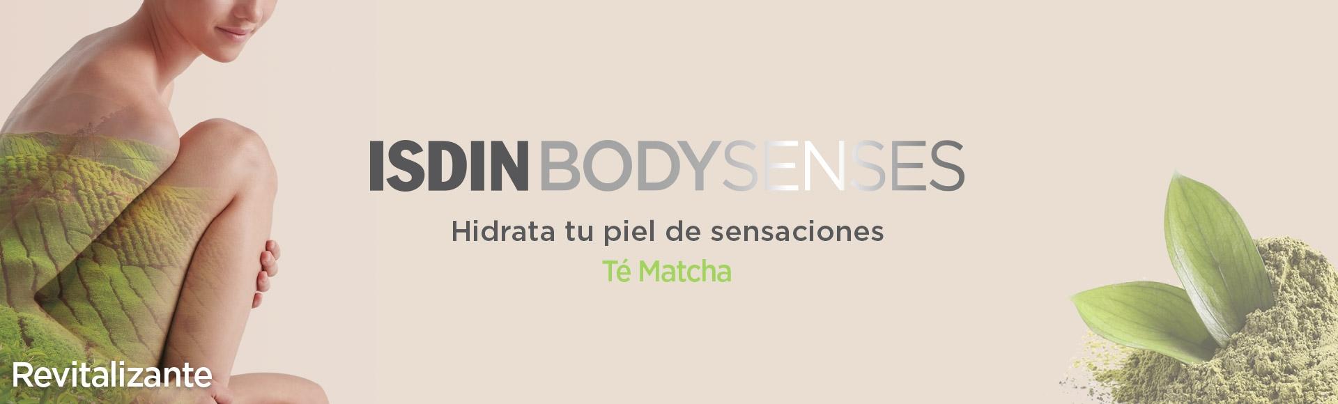 Isdin BodySenses Revitalizante Té Matcha Japonés gama de productos en Farma2go