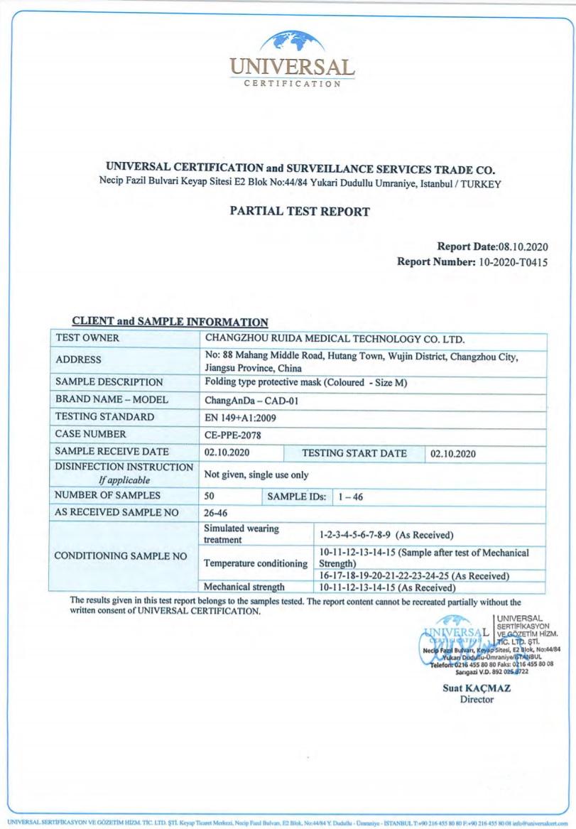 Mascarilla FFP2Niños NR 5 Capas BFE 95% Talla M (1 unidad) - PROMASK -