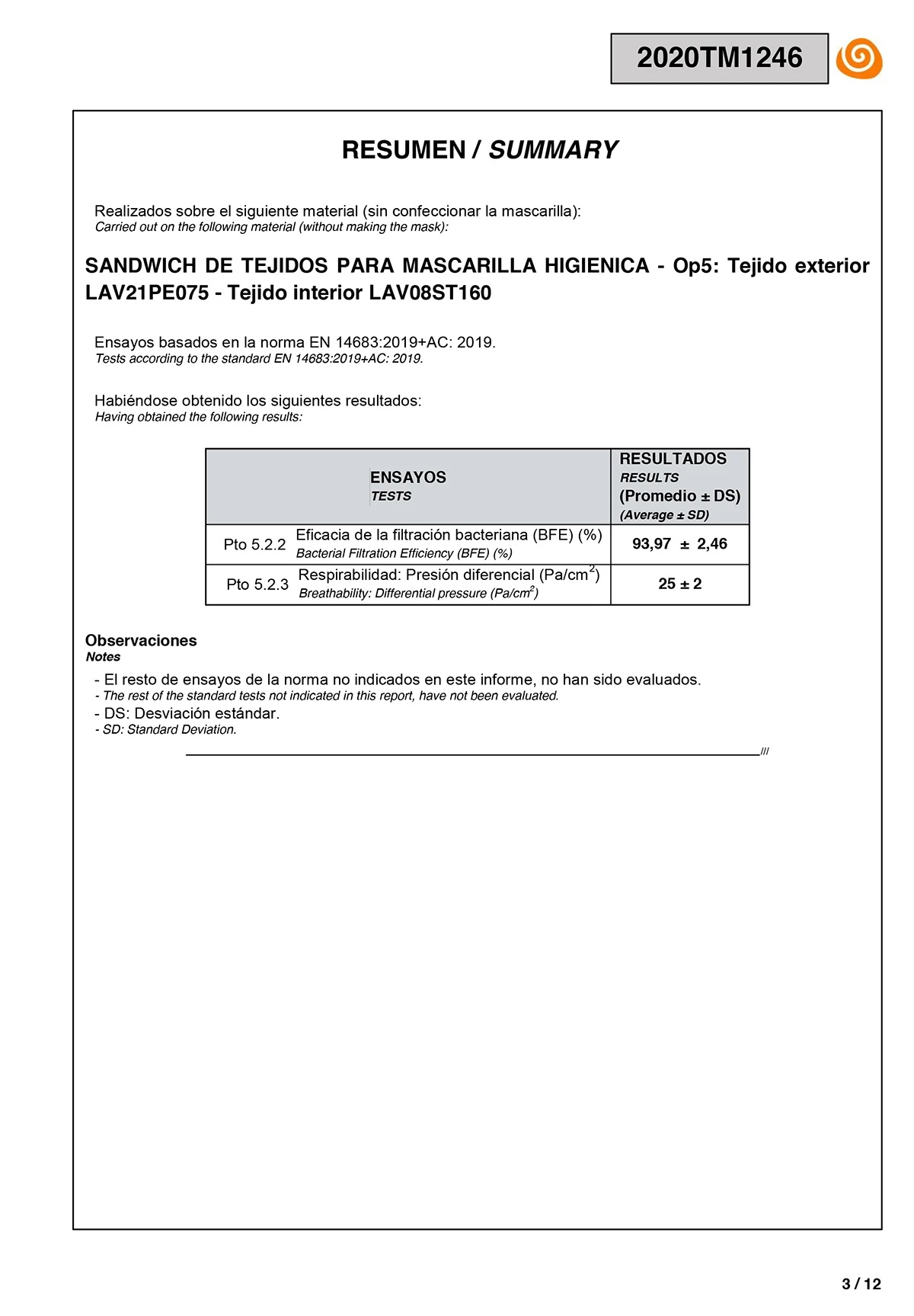 Mascarillas Lavables R30 Niños