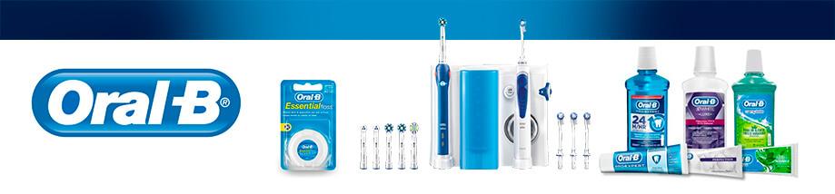 ORAL-B Irrigador Dental Oxyjet Sistema de Limpieza Bucal MD20 Tecnología BRAUN 4 Cabezales