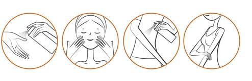 Uriage Bariesun Spray SPF50 modo de aplicacion