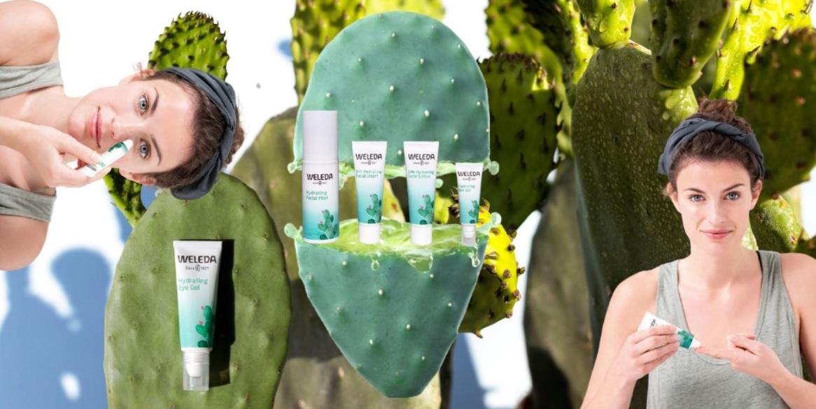 Weleda Crema Facial HydraCream Hidratación y Frescura 24h Extracto de Cactus BIO