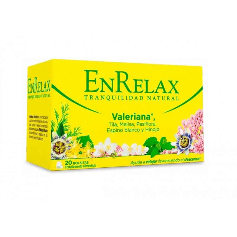 EnRelax Infusión Valeriana Tranquilidad Natural
