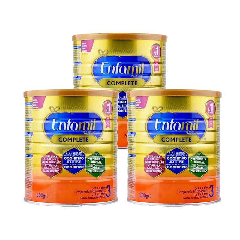 Pack Triplo Enfamil 3 Premium Complete