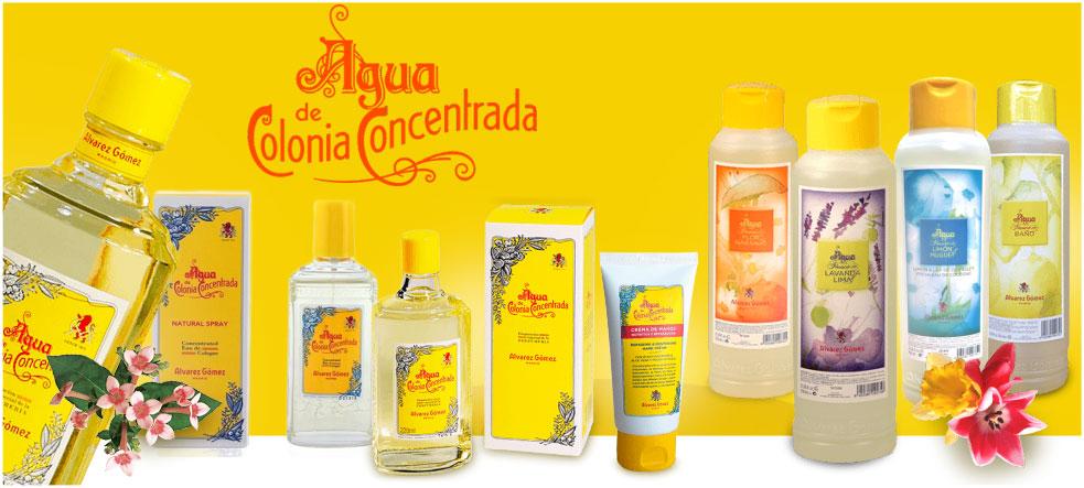 Alvarez Gomez agua de colonia concentrada en Farma2go