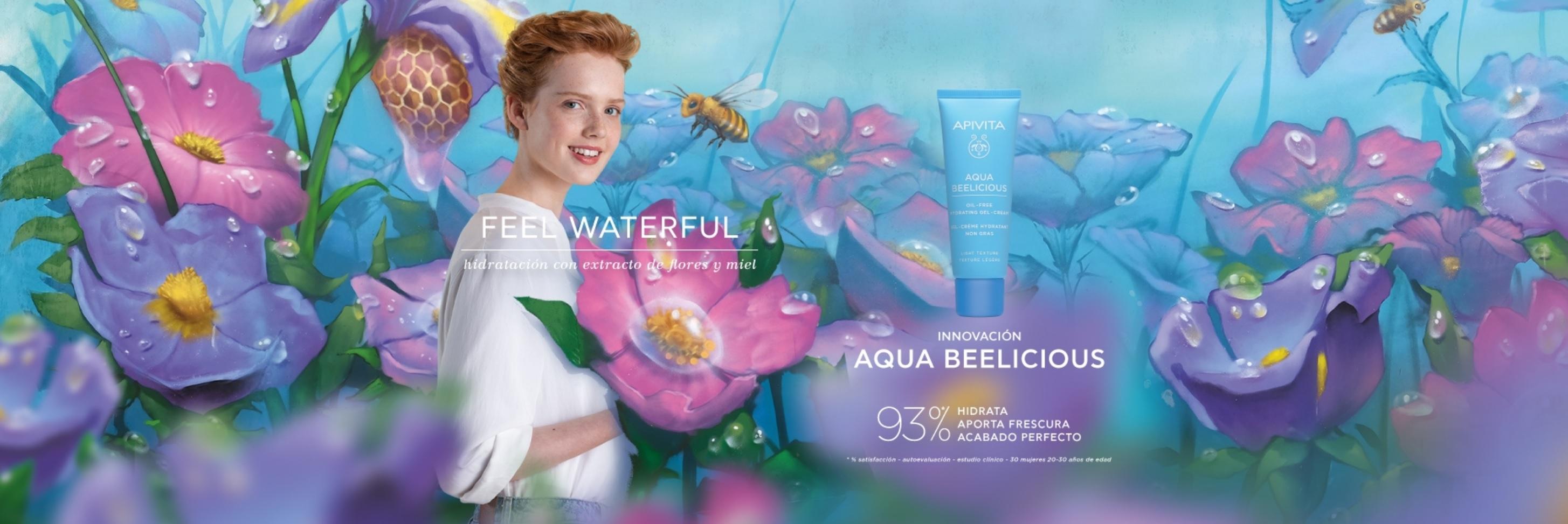 Apivita Aqua Beelicious Crema Oil-free en Farma2go
