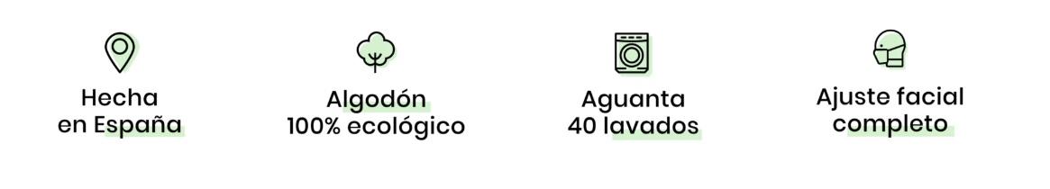 Mascarillas Higiénicas Reutilizables Lavables R40