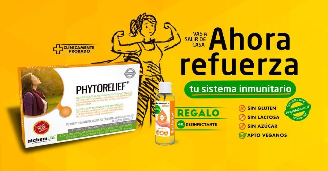 Phytorelief Oferta Promocional Sistema Inmune