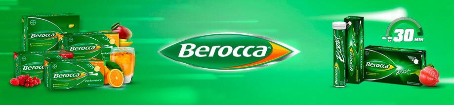 Berocca vitaminas y Minerales Defensas en Farma2go