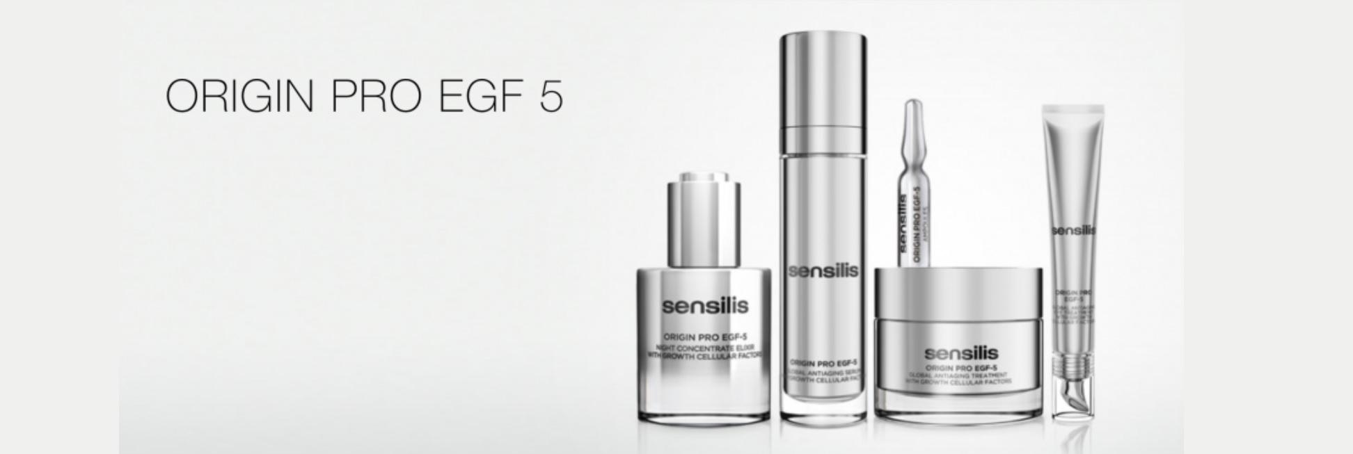 Sensilis Origin pro EGF-5 gama de productos en Farma2go