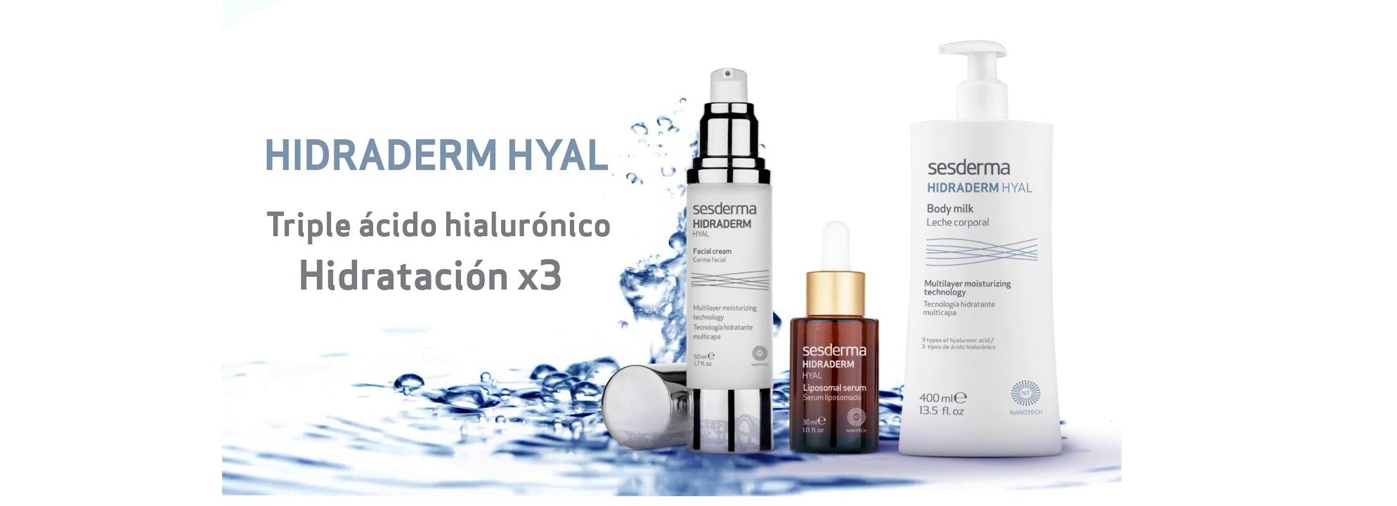 Sesderma Hidraderm Hyal gama de productos en Farma2go