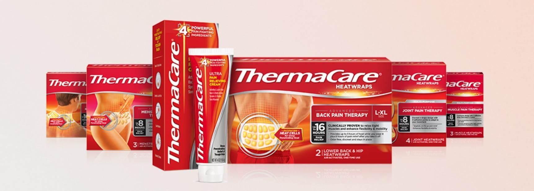 Thermacare gama de productos en farma2go