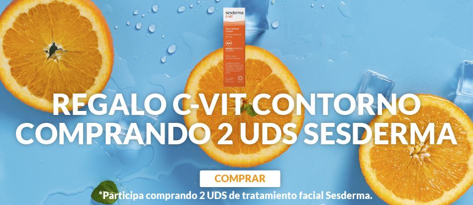 Regalo contorno de ojos Sesderma comprando 2 unidades de tratamiento facial