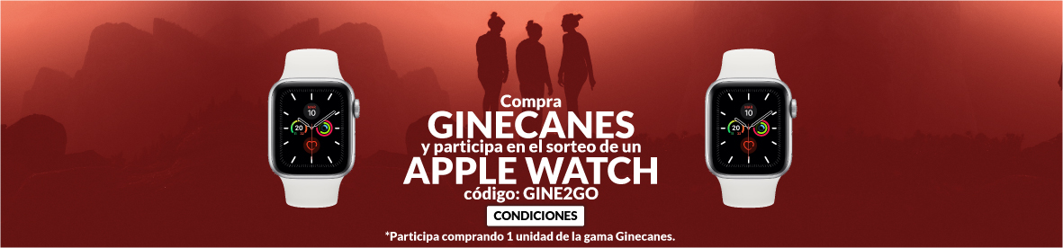 Sorteo Apple Watch comprando Ginecanes
