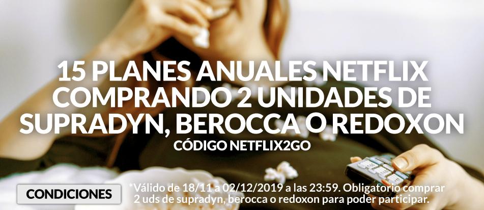 Netflix subscripciones anuales sorteo de Farma2go